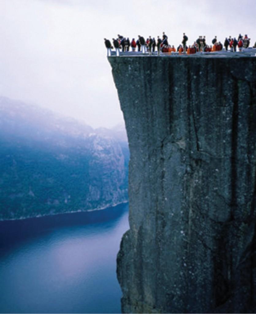 FIGURE 1. Humanity on the edge.