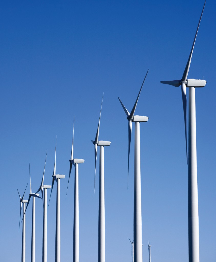FIGURE 1. Big Horn Wind Farm. Photograph by Iberdrola Renewables, Inc. Courtesy of NREL.