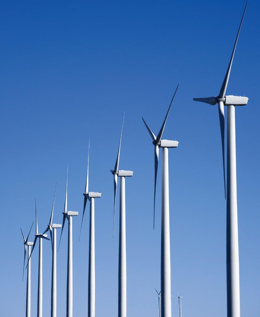 FIGURE 1. Big Horn Wind Farm. Photograph by Iberdrola Renewables, Inc. Courtesy of NREL.