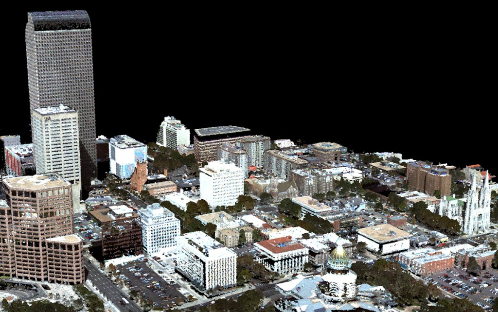 FIGURE 10. Scan of Denver, Colorado, courtesy of Ball Aerospace Corp.