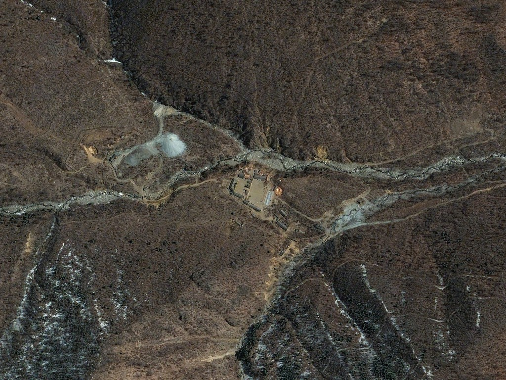 FIGURE 3. Punggye-ri Nuclear Test Site, North Korea, April 11, 2014