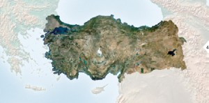 FIGURE 4. RapidEye mosaic of Turkey, courtesy of BlackBridge.