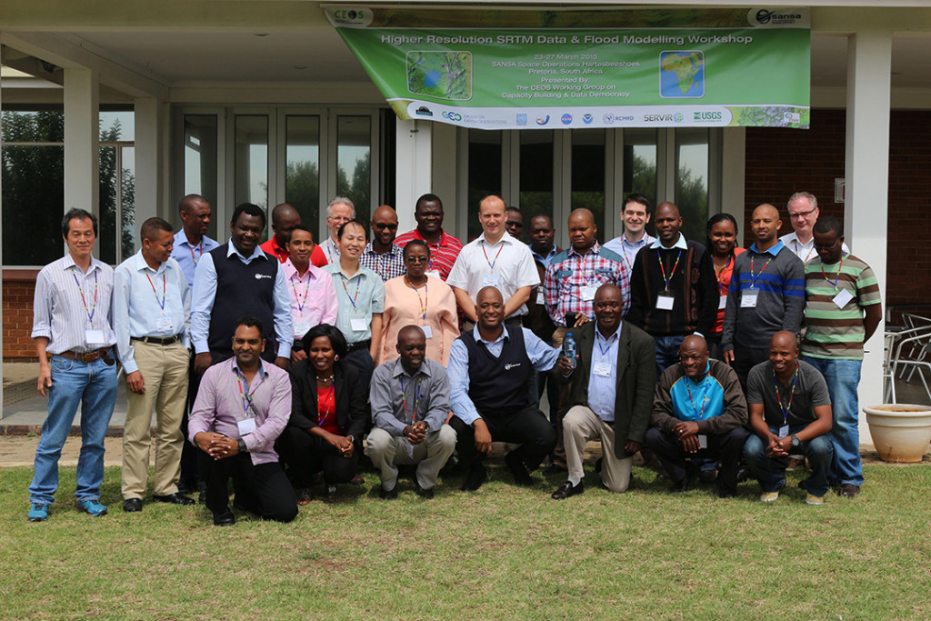 FIGURE 1. Workshop group picture in Hartebeesthoek, Gauteng, South Africa