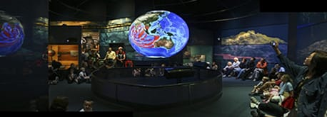 FIGURE 1. Science On a Sphere at NOAA