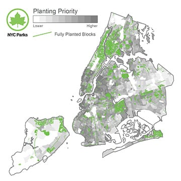FIGURE 10. Prioritization Block Plan of New York City