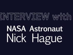 Apogeo Spatial Interview with NASA Astronaut Nick Hague