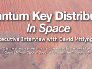 Apogeo Spatial Podcast with David Mitlyng, CEO of Speqtral Quantum Technologies